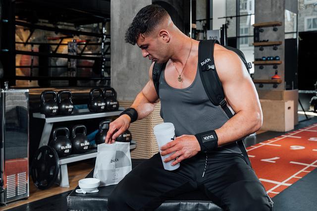 протеинов шейк във фитнеса